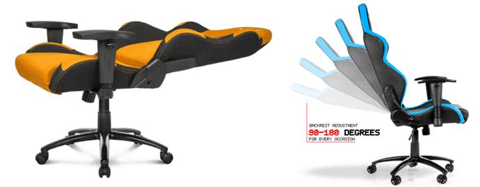 ergonomia comodità sedia gaming