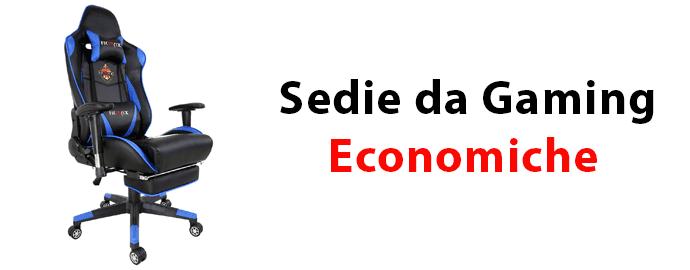 Sedia gaming economica