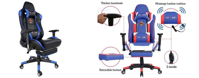 sedia massaggiante